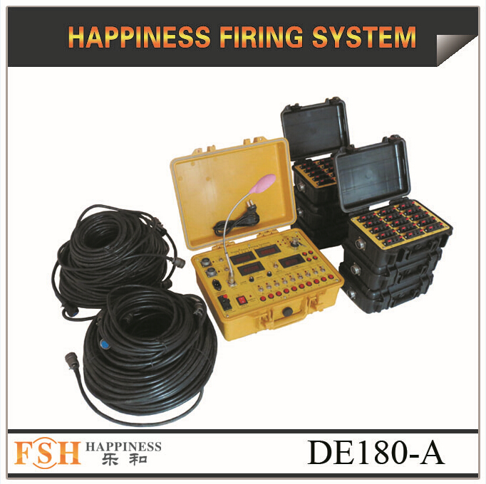 Liuyang Happiness Firing System 180 channels sequence fireworks firing system (DE180-A)