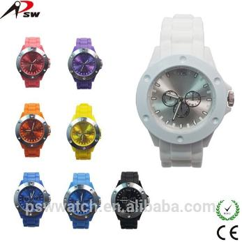 Cheap Silicone Rubber Colorful Watch