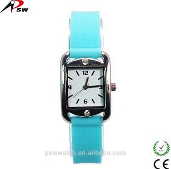 Lady Silicone Watch