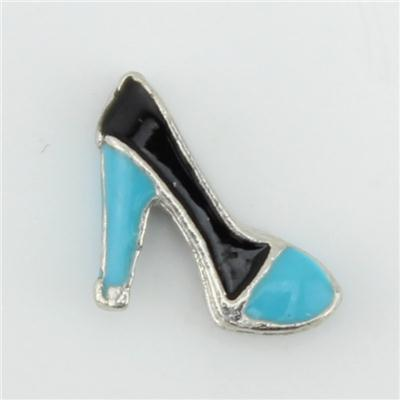 Silver Closed-toe Heel Floating Charm