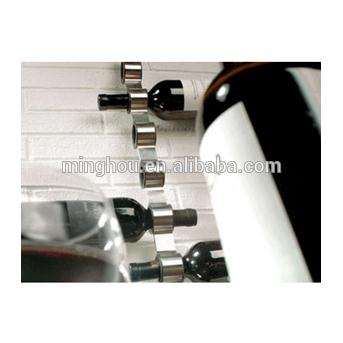 Stainless Steel Wall Mounted Wine Rack MH-MR-15004
