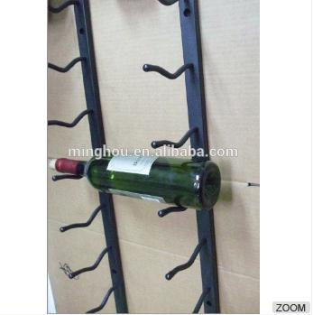 Spray Coated Wall Mounted Wine Rack Metal Wine Rack MH-MR-15041
