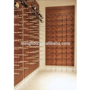 Aluminum Wall Mounted Wine Racks Decorative Wall Mounted Wine Display Racks MH-MR-15001