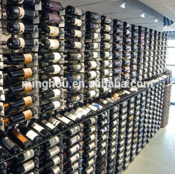 Wine Cellar Hanging Wall Shelves For Wine Bottle MH-MR-15002