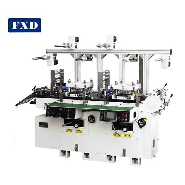 Adhesive Tape Hot Stamp Die Punching Machine