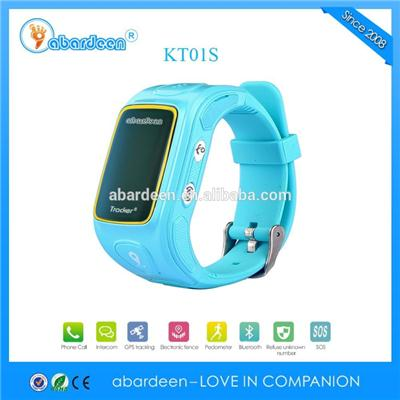 Bluetooth SOS Button Kid GPS Watch