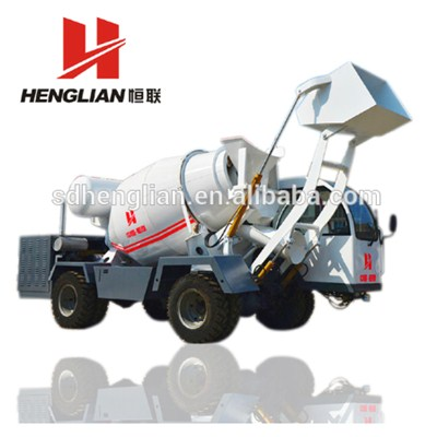 Domestic 3 Cbm Self Loader Concrete Mixer