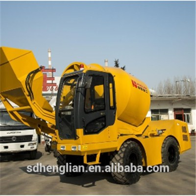 Mini Size Concrete Batching Vehicle