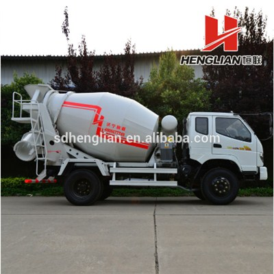 4m3 Concrete Mixer Roller With Truck