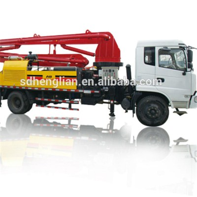 Small Concrete Pump Trucks