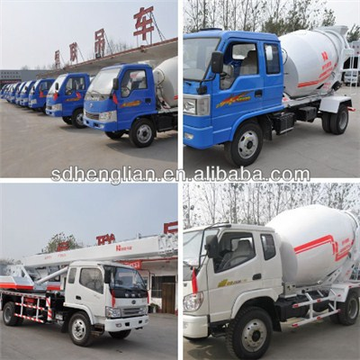 6*2 Small Concrete Mixing Truck