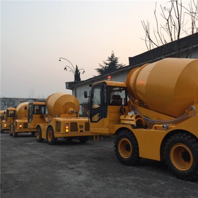 China 3 M3 Self Loading Mixer Truck With High Quality Cheapest Price