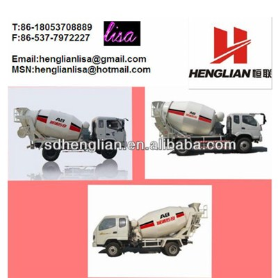2-6m3 Concrete Mixer Trucks