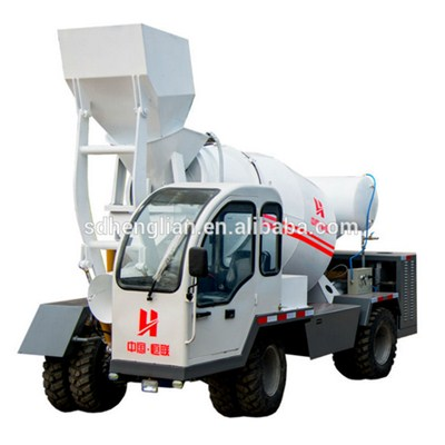 Mini Concrete Pouring Mixer Machine