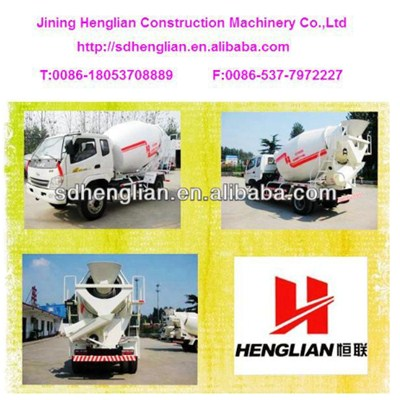 2m3 Small Concrete Mixer Trucks