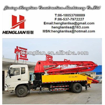 18m Truck Mounted Concrete Pump Trucks