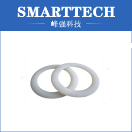 White Color Rubber Component Moulding