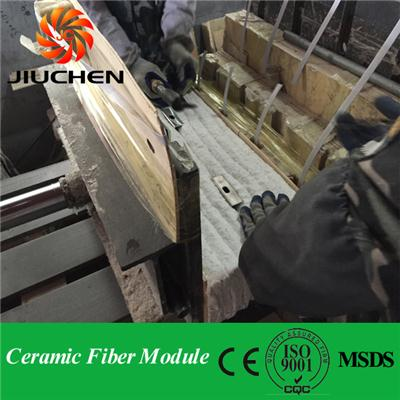 Ceramic Fiber Module used in industrial furnace
