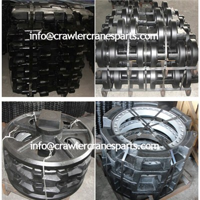 Liebherr Crawler Crane Undercarriage Parts