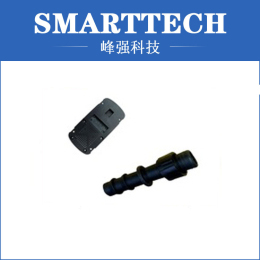 Black ABS Car Plastic Components Cheap Mould Making