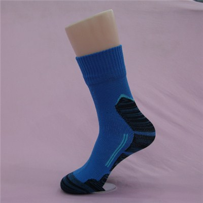 High Quality Custom Thick Mid Length Waterproof Cycling Socks