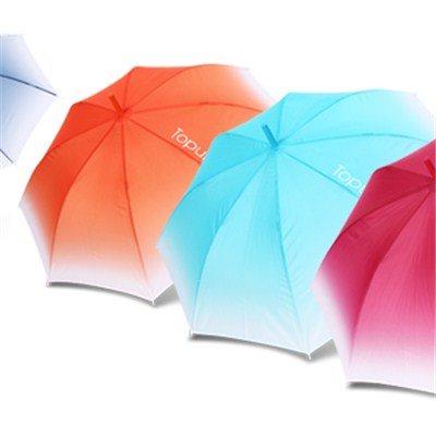 Color Changing Straight Umbrella