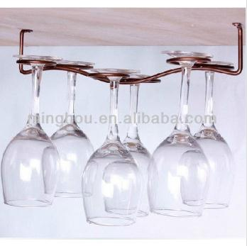 6 Bottle Wine Glass Rack Hanging Wine Glass Rack MH-GR-15018