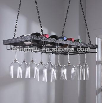 Professional Design Metal Hanging Wine Glass Rack MH-GR-15019