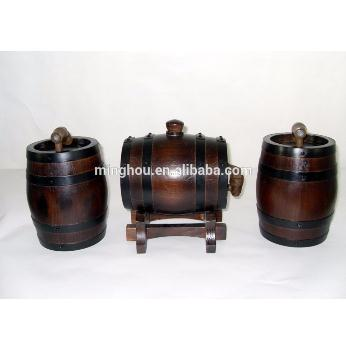 Handmade Practical 1.5l Oak Wine Barrel MH-WB-15001