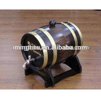 1.5l Antique Oak Wood Wine Barrel MH-WB-15003