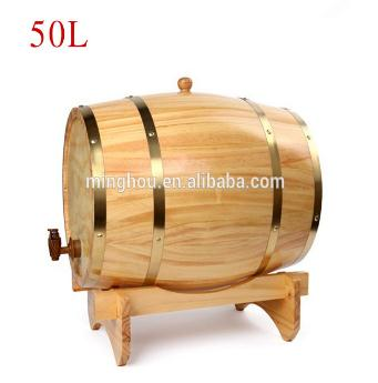 50l Used Oak Wine Barrel Wine Beer Barrel Stand MH-WB-15017