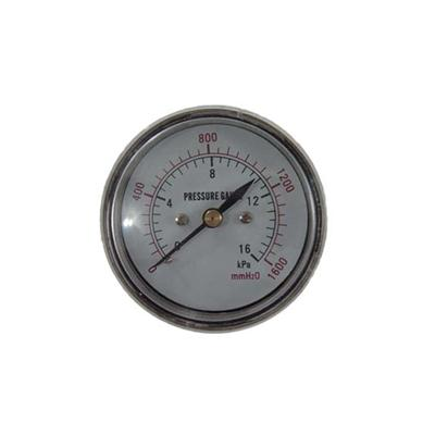 2.5-60mm Chrome Plating Case Back Type Low Pressure Gauges Gold Supplier