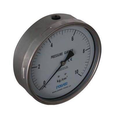 6 Inch-150mm Full Stainless Steel Back Thread Type Pressure Manometer
