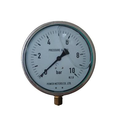 6inch-160mm Half Stainless Steel Bottom Type Liquid Filled Pressure Gauge