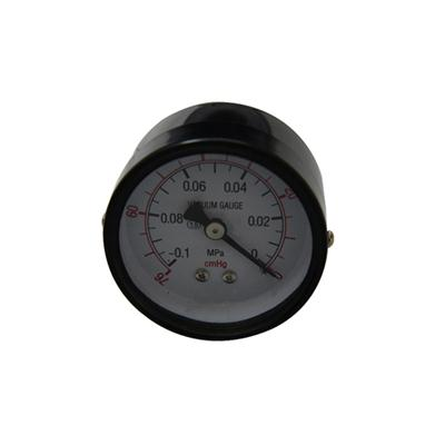1.5inch-40mm Black Steel Case Brass Back Vacuum Pressure Gauge Manometer