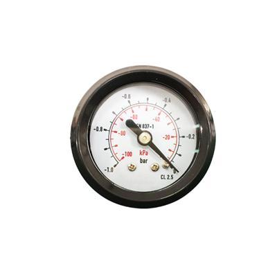 1.5inch-40mm Black ABS Case Back Vacuum Gauges With Special Connection
