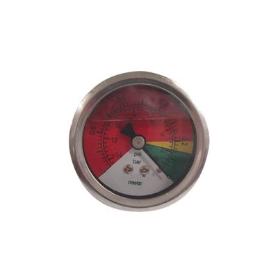 2inch-50mm Colored Dial Plate Full Stainless Steel Back Type Vacuum Pressure Gauge With Glycerin Or Silicone Oil