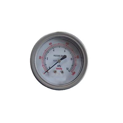 2.5-60mm 10KPa Stainless Steel Case Back Type Bellows Pressure Gauges