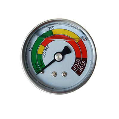2inch-50mm Half Stainless Steel Back Type Liquid Filled Pressure Gauge2