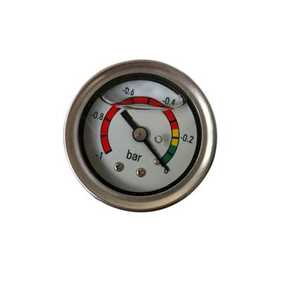 1.5inch-40mm Stainless Steel Case Glycerin Oil Filled Vacuum Pressure Gauge