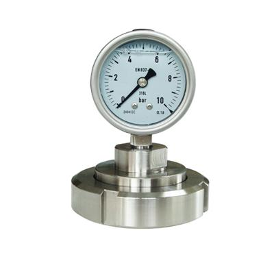 2.5 Inch 63mm Diaphragm Seal Pressure Gauge SS 316L Case And Seal CE Approved