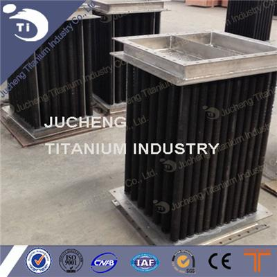 Titanium fin tube heat exchanger