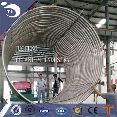 Titanium Tube Coil Heat Exchanger