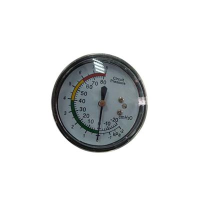 2.5-60mm Chrome Plating Case Back Type Bellows Low Pressure Gauges For Medical Use