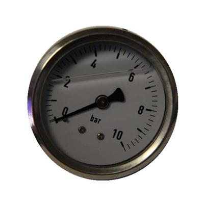 2.5 Inch-60mm Full Stainless Steel Back Thread Type Pressure Manometer