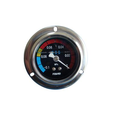 2inch-50mm Half Stainless Steel Back Type Liquid Filled Pressure Gauge With Flange