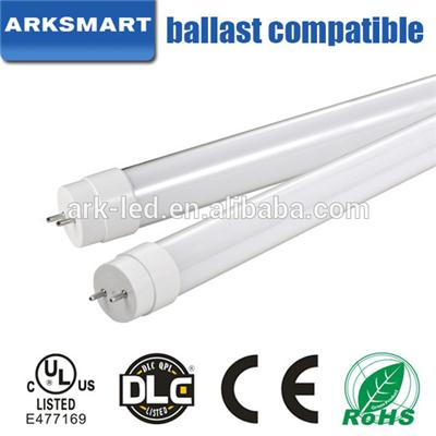 UL DLC All Glass T8 Led Tube 140lm/w Plug And Play
