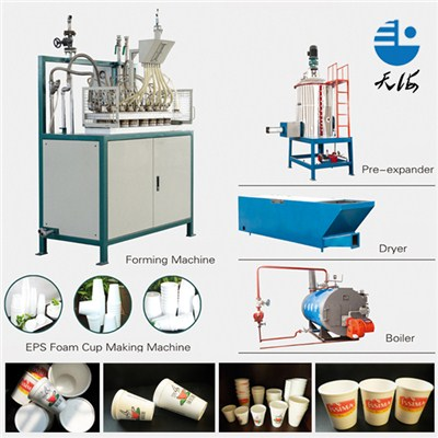 Disposable Foam Cups Making Machine