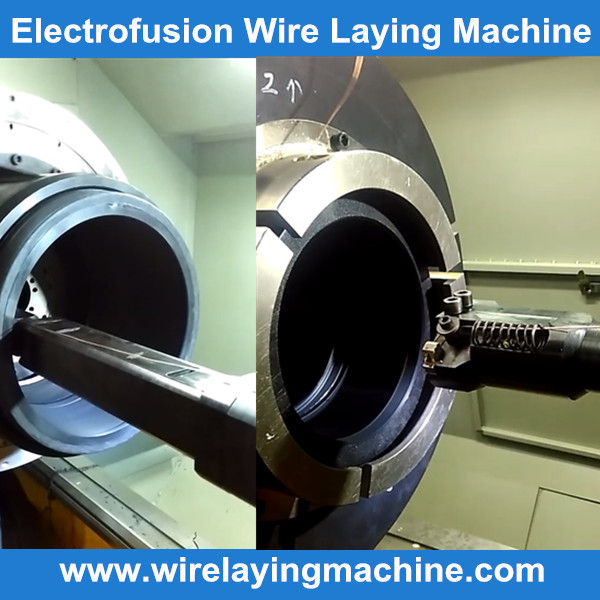 PE electrofusion fittings wire laying