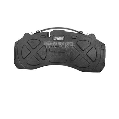 WVA	(29184)Brake Pad For	MAN,Mercedes Benz,SAF